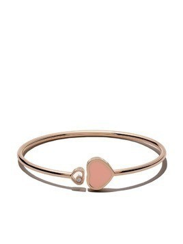 Chopard 18kt rose gold Happy Hearts diamond bangle
