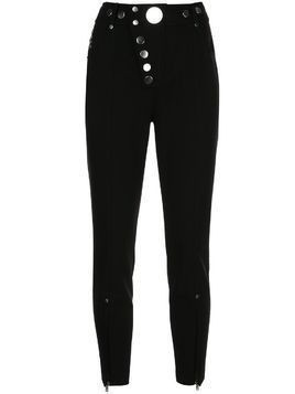 Alexander Wang studded skinny trousers - Black