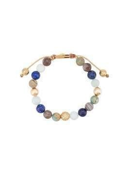 Nialaya Jewelry faceted stone bracelet - Blue