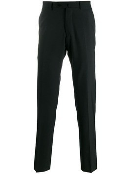 Caruso tailored straight leg trousers - Black