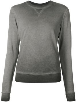321 washed crew neck sweatshirt - Grey