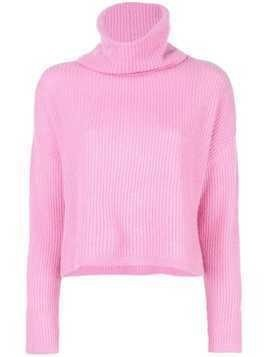 Maison Ullens turtle neck sweater - PINK