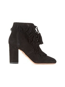 Aquazzura Aquazzura X Farfetch Very Pascaline booties - Black