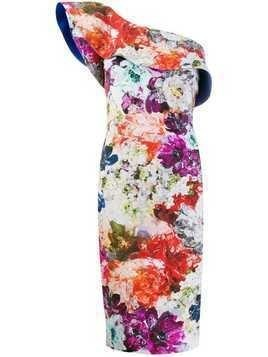Le Petite Robe Di Chiara Boni floral one shoulder dress - Multicolour