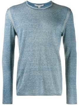 John Varvatos long sleeve jumper - Blue