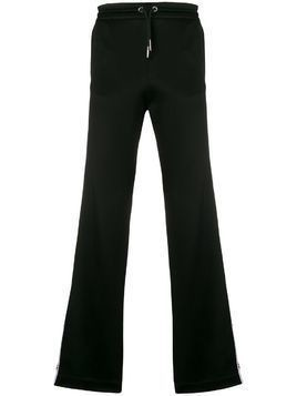 Icosae side logo track pants - Black