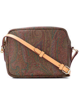 Etro paisley print shoulder bag - Multicolour