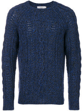Closed - cable-knit jumper - Herren - Wool - L - Blue
