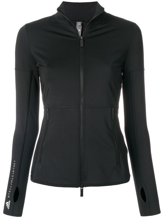Adidas By Stella Mccartney Performance Essentials mid-layer jacket - Black