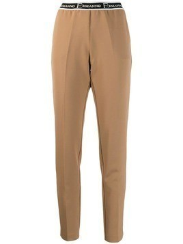 Ermanno Ermanno slim-fit trousers - Neutrals