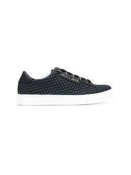 Armani Jeans star printed sneakers - Blue