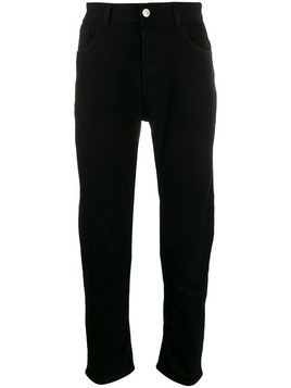 Haikure straight-leg denim jeans - Black