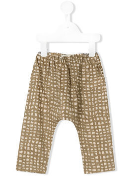 Gold Belgium checked trousers - Green