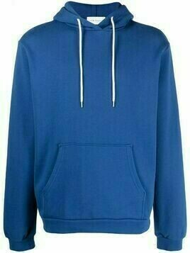 John Elliott long-sleeved cotton hoodie - Blue