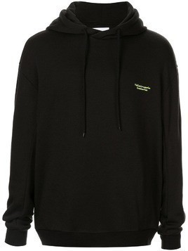 Yoshiokubo delorean parka sweatshirt - Black