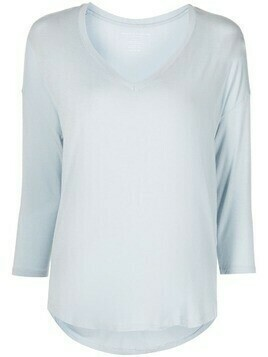 Majestic Filatures V-neck blouse - Blue