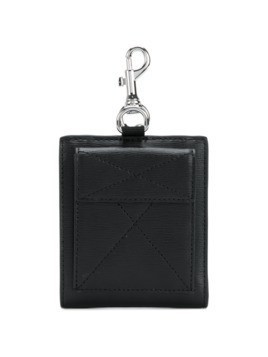 Versus key fob billfold wallet - Black