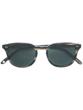 Josef Miller round frame sunglasses - Brown