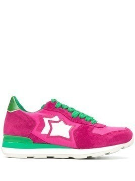 Atlantic Stars star patch sneakers - Pink