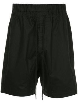 Bassike drawstring fitted shorts - Black