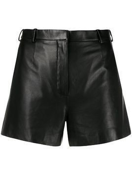 LANVIN tailored leather shorts - Black