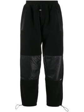 Lc23 panelled track pants - Black