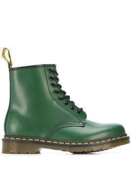 Dr. Martens lace-up combat boots - Green