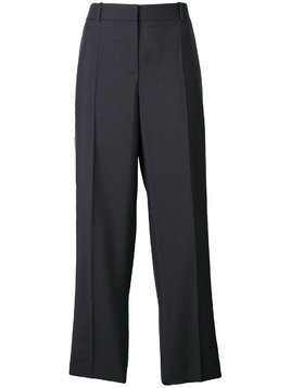Givenchy satin side stripe tuxedo trousers - Blue