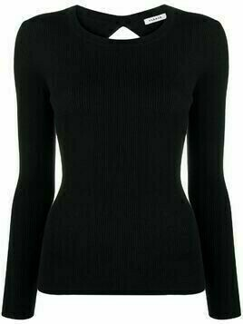 P.A.R.O.S.H. Leila open back top - Black