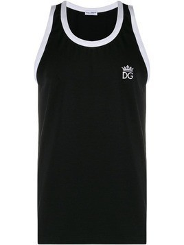 Dolce & Gabbana crown logo vest - Black