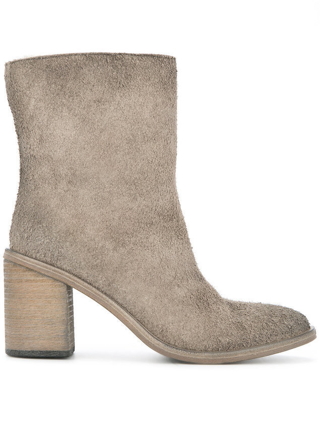 Marsèll distressed ankle boots - Grey