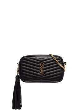 Saint Laurent mini Loulou shoulder bag - Black