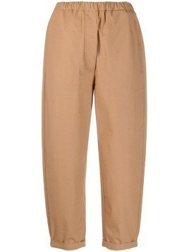 Tela Rivoli cuffed trousers - Neutrals