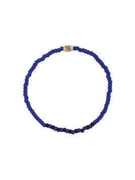 Luis Morais eye of Horus pendant bracelet - Blue