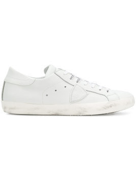 Philippe Model - Paris sneakers - Herren - Calf Leather/Leather/Cotton/rubber - 44 - White