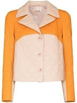 Dodo Bar Or Fran colour-block jacket - Pink