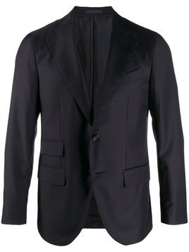Caruso single breasted blazer - Blue