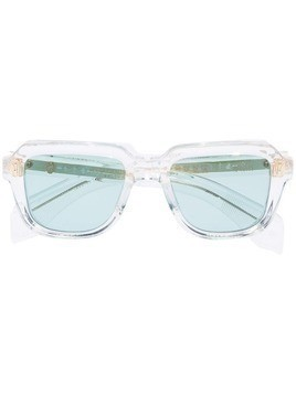 Jacques Marie Mage Taos square sunglasses - White