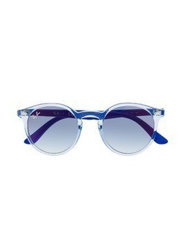 RAY-BAN JUNIOR round frame sunglasses - Blue