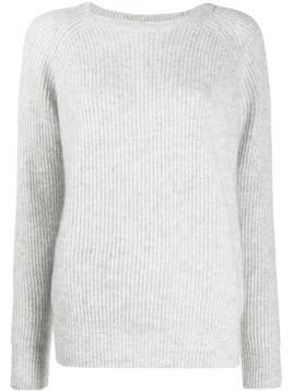 Alyki ribbed knit jumper - Grey