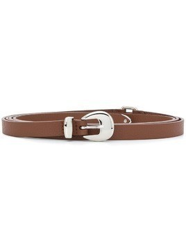 Orciani thin buckle belt - Brown