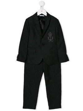 Dolce & Gabbana Kids formal two piece suit - Black