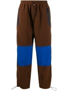 Lc23 colour block track pants - Brown