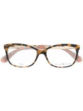 Kate Spade rectangular glasses - NEUTRALS
