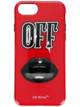 Off-White Monochrome Lips iPhone 8 case - Red