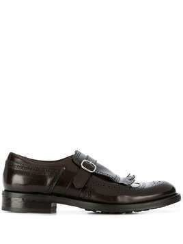 Doucal's Berg monk shoes - Brown