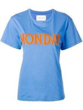 Alberta Ferretti Monday T-shirt - Blue