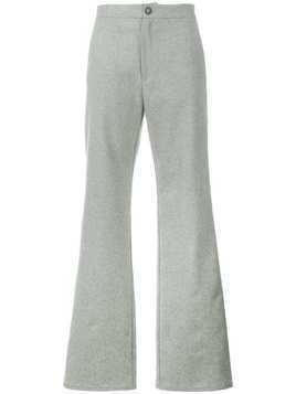 Lot78 flared trousers - Grey