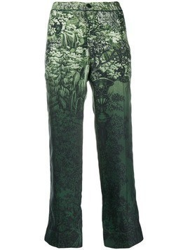 F.R.S For Restless Sleepers printed trousers - Green