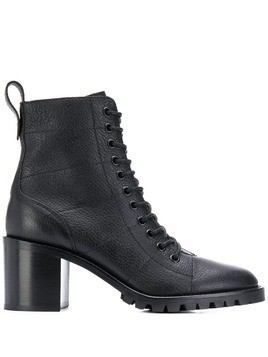 Jimmy Choo lace-up ankle boots - Black